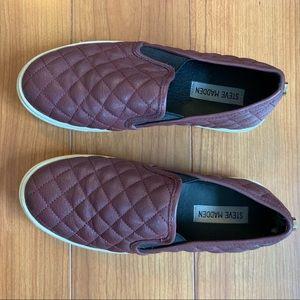 Steve Madden Loafers Maroon